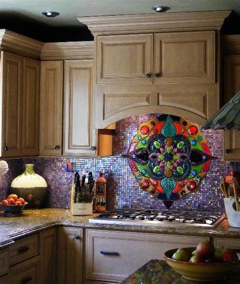 colorful glass tile backsplash 33 best images on backsplash ideas