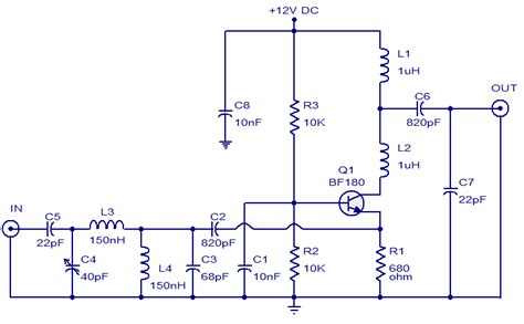 tv antenna booster circuit electronics a