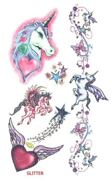 mystical tattoo designs unicorns free supplier of temporary tattoos