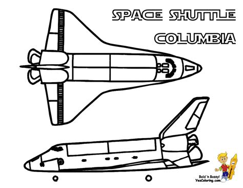 Columbia Space Shuttle Coloring Pages Page 4 Pics Space Shuttle Coloring Pages