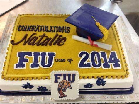 fiu colors fiu graduation cake in school colors with