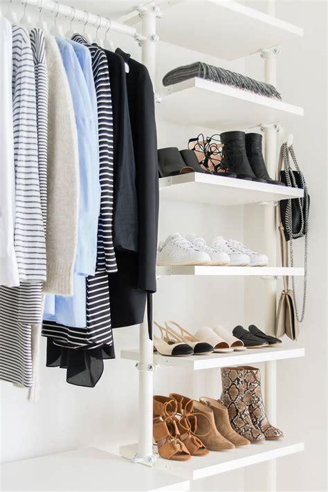 Ideas For Small Closets 5 tipps f 220 r minimalismus im kleiderschrank