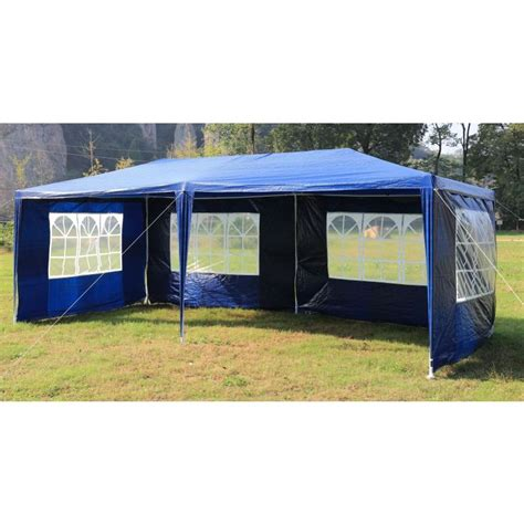 portable gazebo outdoor portable gazebo marquee tent in blue 3x6m buy