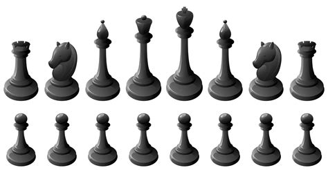 To Vacuum by Black Chess Pieces Png Clipart Best Web Clipart