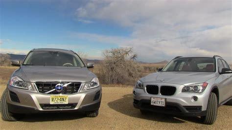 2013 volvo xc60 versus bmw x1 0 60 mph mashup review