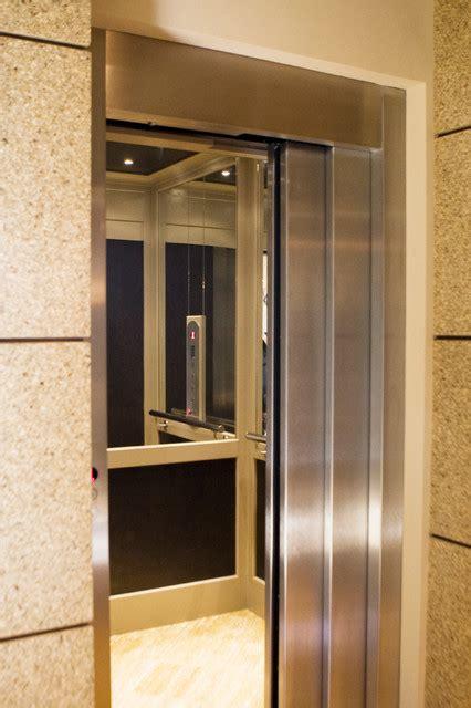 custom residential elevator  sliding doors modern