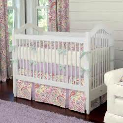 Baby Bedding Collections Watercolor Paisley Crib Bedding Carousel Designs
