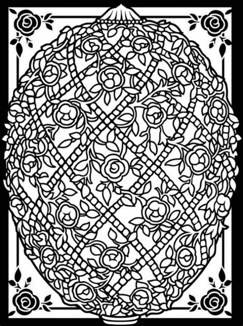 faberge eggs coloring page free easter coloring pages creative coloring blog
