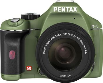 pentax adds four new color choice options for their k x