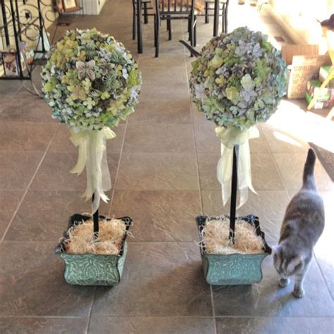 diy topiaries large origami flower topiaries weddingbee photo gallery