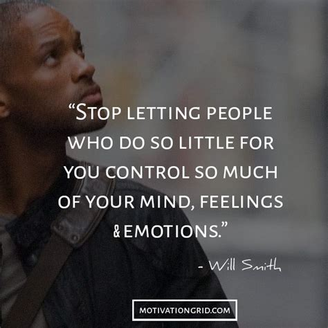 letting others control your emotions