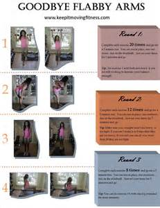 Goodbye flabby arms a printable workout keep it moving fitness
