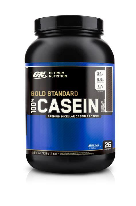 Casein Protein On Gold Standard 100 Casein Optimum Nutrition Uk