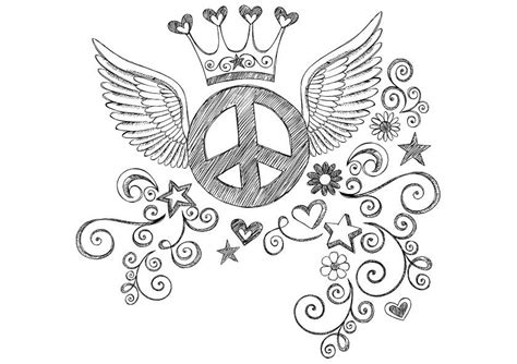 peace coloring pages simple and attractive free printable peace sign coloring pages