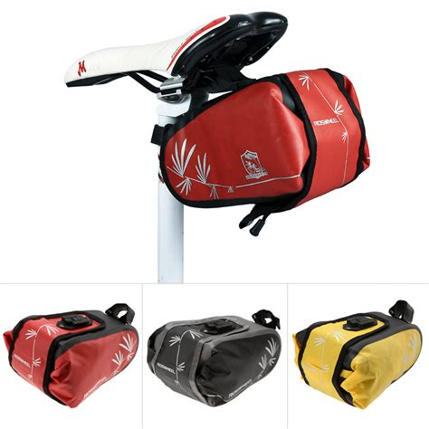 waterproof bicycle seat bags waterproof bike saddle bag bicycle cycling rear pouch
