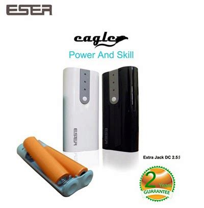 Baterai Power Bank power bank eser eagle 8800 mah leather flip cover
