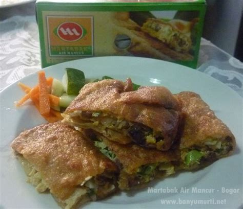 kuliner bogor martabak air mancur wisata kuliner indonesia