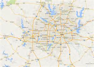 dallas on map map of dallas state map of usa united states maps
