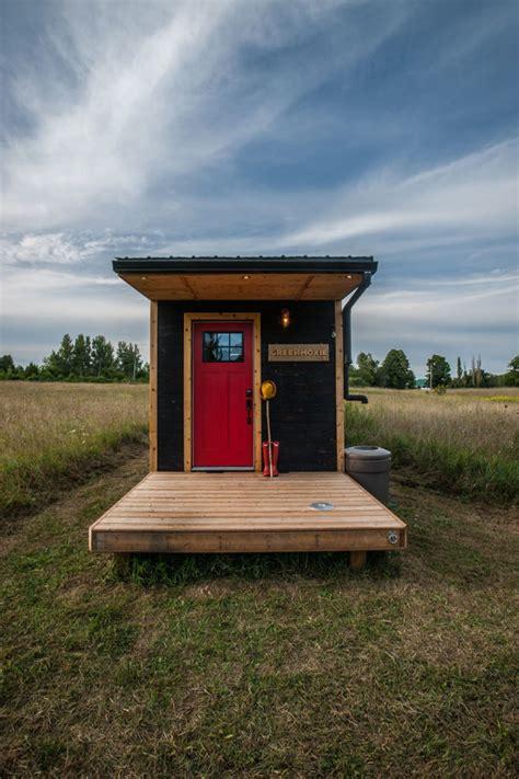 tiny house with deck amazing greenmoxie tiny house with folding deck