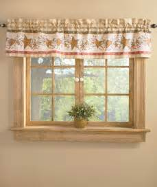 hearts and stars kitchen collection window valance country hearts and stars bathroom home
