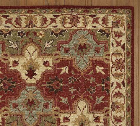 New Pottery Barn Handmade Persian Cecilia Area Rug 5x8 Pottery Barn Area Rugs