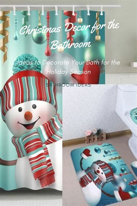 holiday bathroom accessories how to decorate a bathroom for christmas season