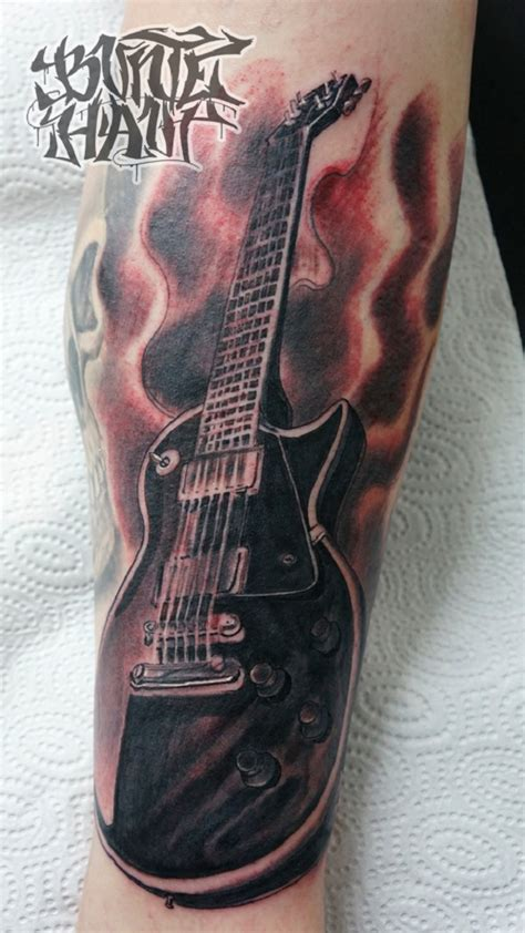 guitar sleeve tattoo designs 60 inspirational guitar tattoos nenuno creative