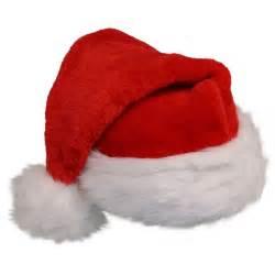 deluxe plush santa hat
