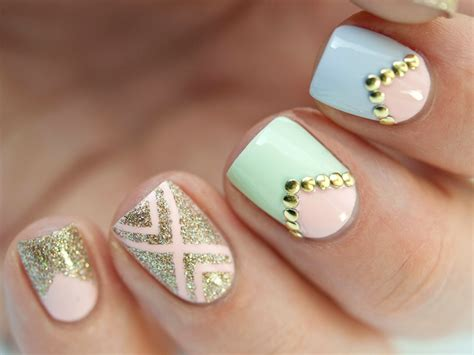 imagenes de uñas pintadas de color turquesa 15 dise 241 os de u 241 as que puedes hacer paso a paso