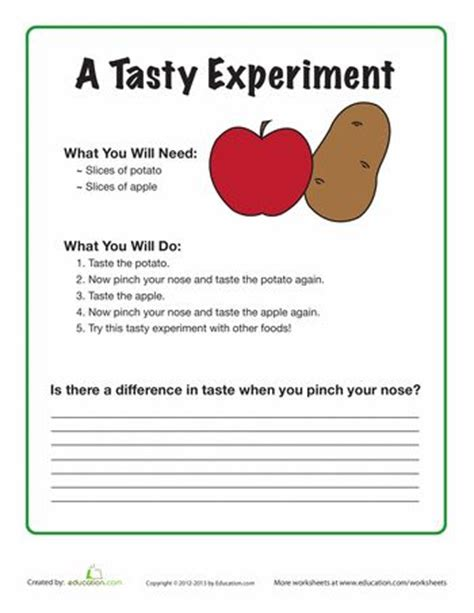 Food Scientist Education by 56 Best Images About 5 Senses On Preschool Preschool Weekly Themes And Thematic Units