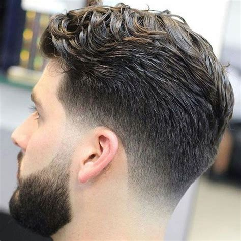 faded side haircut 25 classic taper haircuts low taper fade side sweep