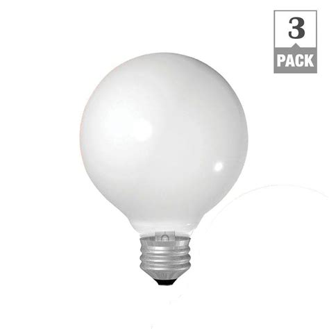 ge appliance l 40w 120v ge 40 watt incandescent g25 globe white
