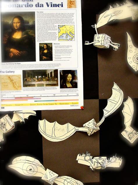 leonardo da vinci biography for 4th graders 65 best images about 5th grade art lesson ideas on