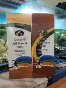 Walit Jelly Gamat Gold G 500ml ramuan obat tanaman herbal indonesia