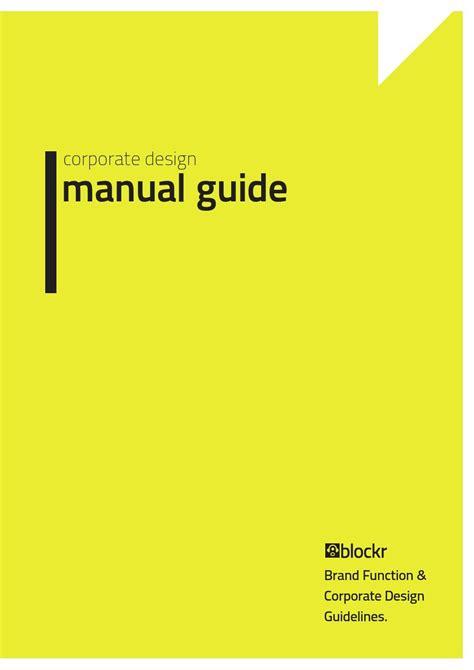 pattern making manual pdf corporate design manual guide corporate design manual