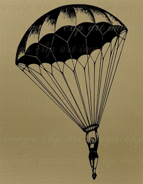 parachute tattoo 1000 images about skydiving ideas on