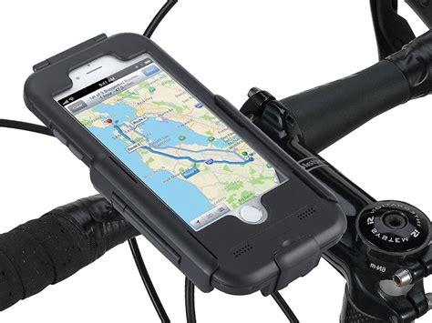 tigra iphone  fietshouder waterproof bike case