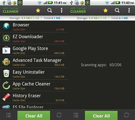 cache cleaner for android tablet best 5 apps to clean optimize to increase the speed of android phones tablets