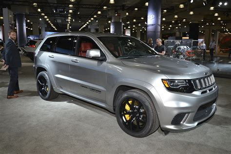 dodge jeep silver extreme machine jeep grand cherokee trackhawk the most