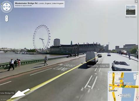 google street view hits britain web technology