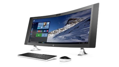 best hp envy the hp envy curved all in one pc is the best looking