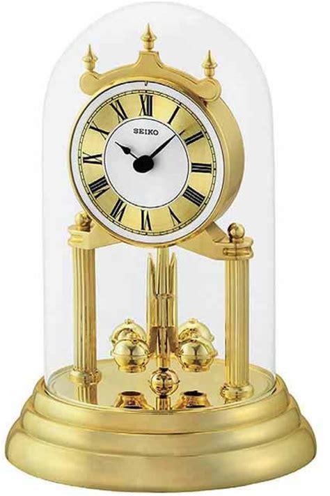 Seiko QHN006GLH Non Chiming Anniversary Clock