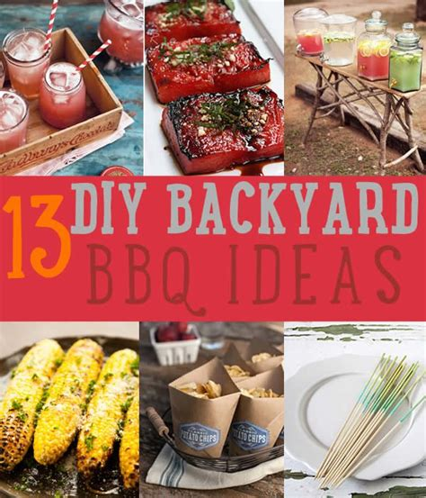 backyard bbq ideas diy projects craft ideas how