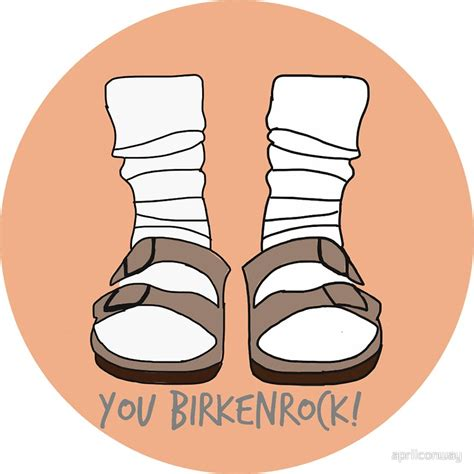 Stiker Evos Small Size quot you birkenrock orange quot stickers by aprilconway redbubble