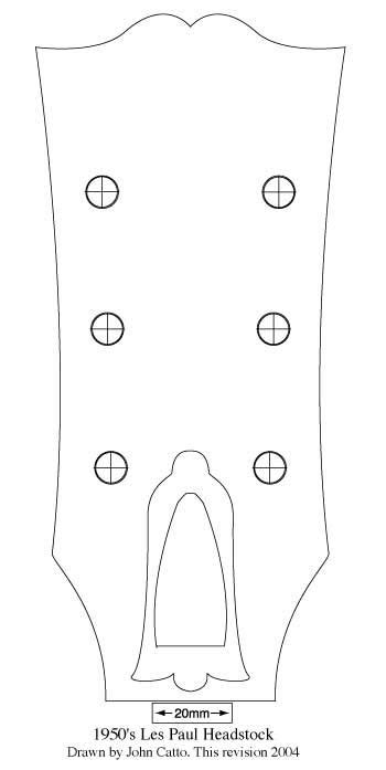 les paul headstock template pdf cerca con