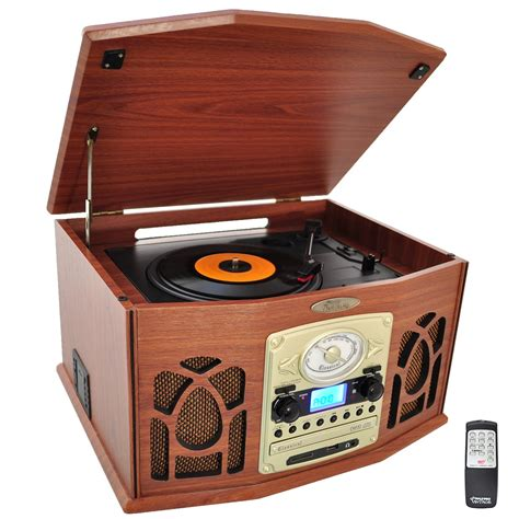 cassette radio player pylehome ptcds7uiw home and office turntables