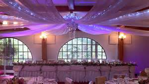 Diy Ceiling Draping Wedding Decorations Ceiling Drapes Wedding Services