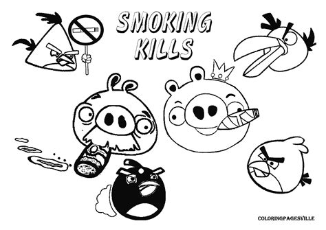 smoke free coloring pages coloring pages