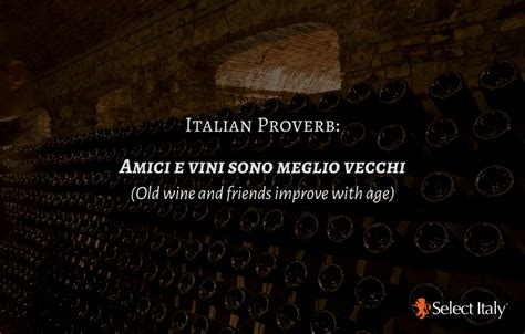 top italian proverbs  wine espresso  select italy