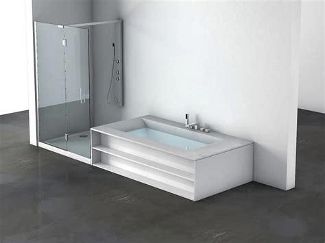 box doccia per vasche da bagno vasca da bagno e box doccia comunicanti per terme idfdesign